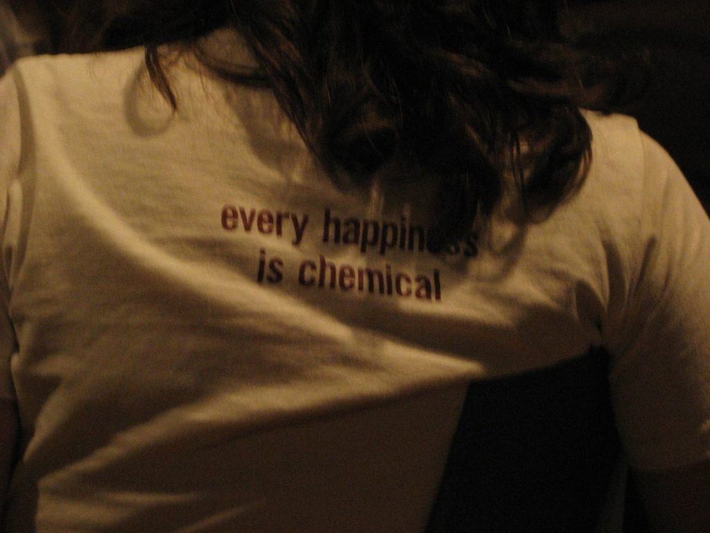 happiness is chemical