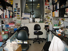 lab move - before
