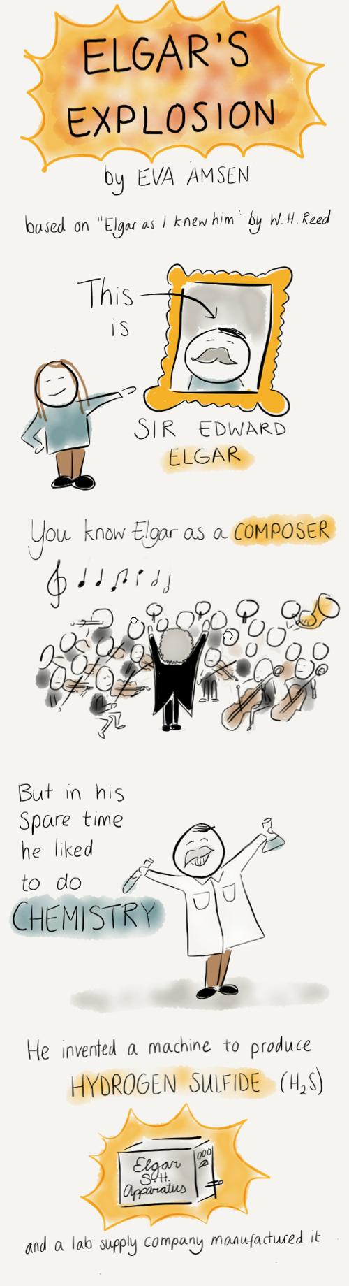 Elgar's explosion