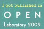 Published in Open Lab 2009