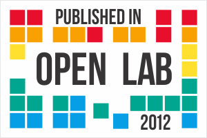 Published in Open Lab 2012