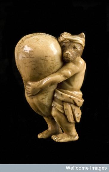 L0064881 Ivory netsuke, Japan, 1701-1900
