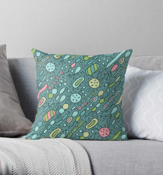 microbe pillow