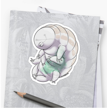 tardigrade sticker