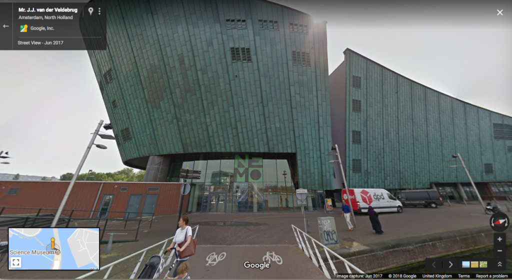 Google Street View of NEMO