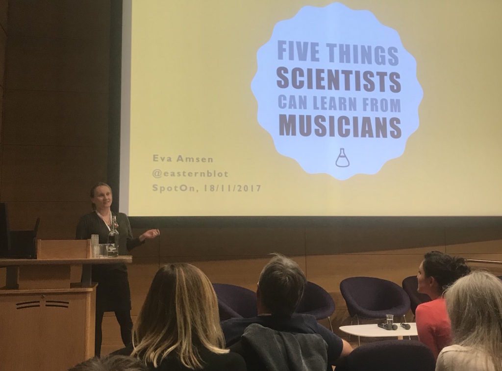 SpotOn - Five Things Scientists can learn from musicians