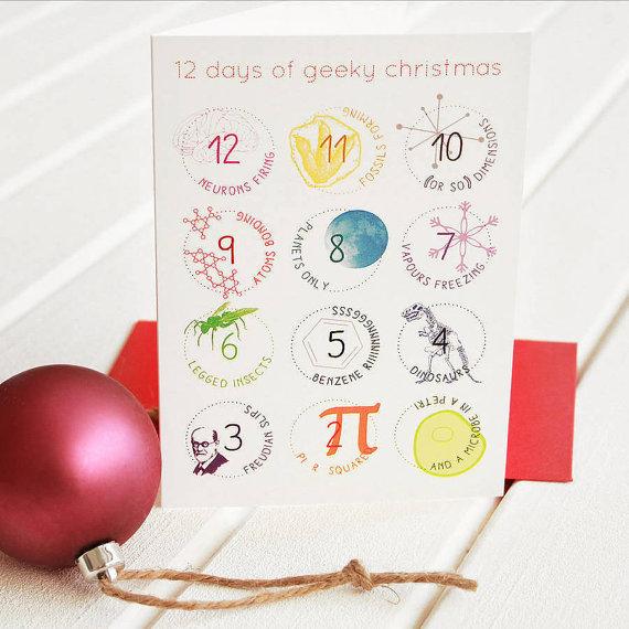 12 Days of Geeky Christmas - NewtonAndTheApple