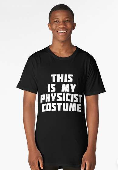 Physicist science Halloween costume