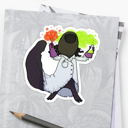 Axolotl scientist - Redbubble