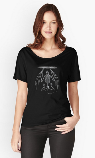Bat skeleton T-shirt