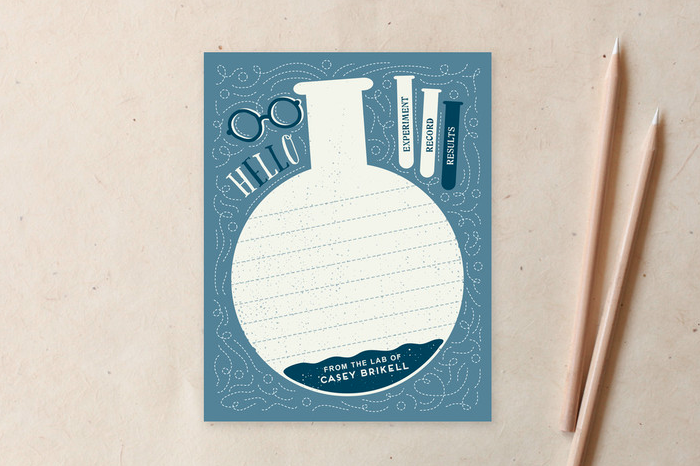 Scientist stationery