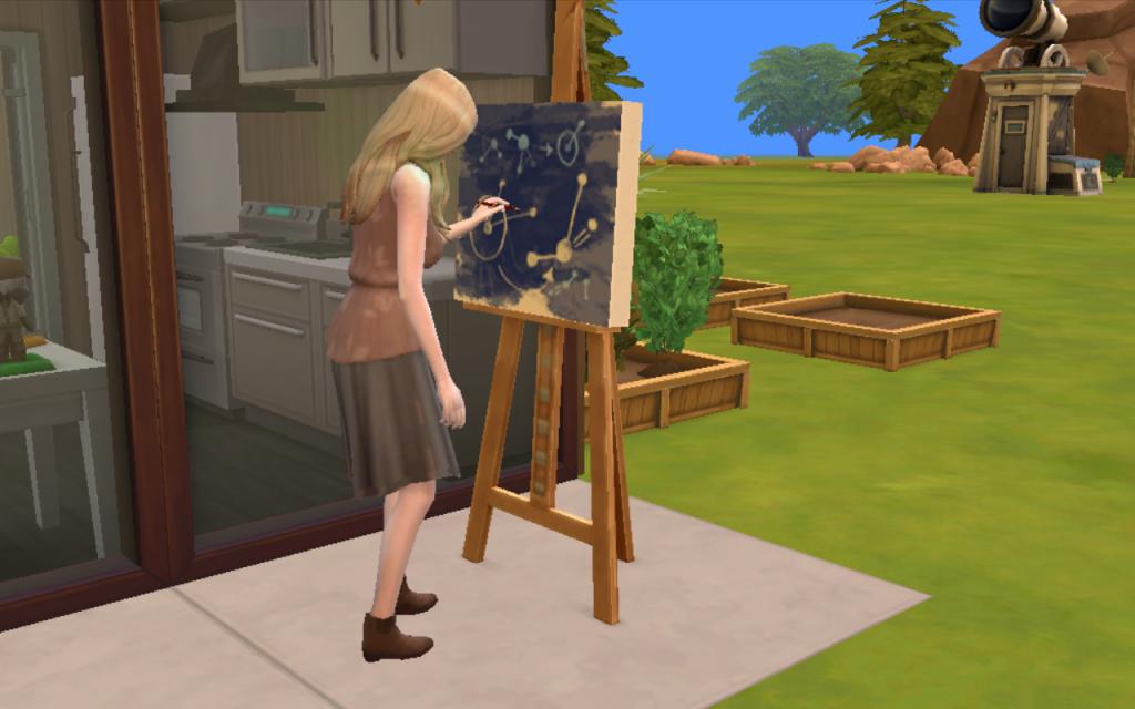 Sims 4 mathematical diagram