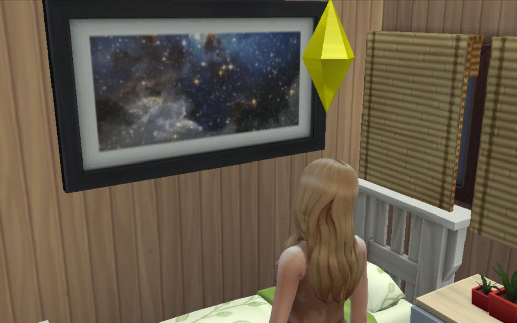 Sims 4 space print